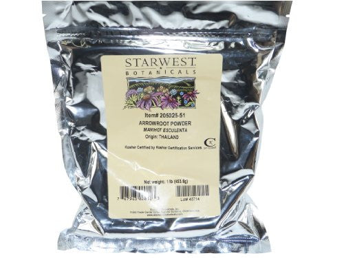 Organic Arrowroot Powder 1 lb