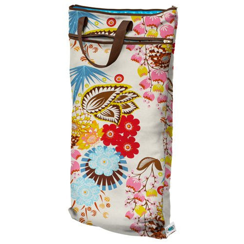 Planet Wise Hanging Wet/Dry Bag - April Flowers (First Select  	 Color)
