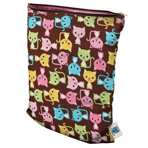 Planet Wise Diaper Wet Bag (Size: Medium Color: Kitty Kat)