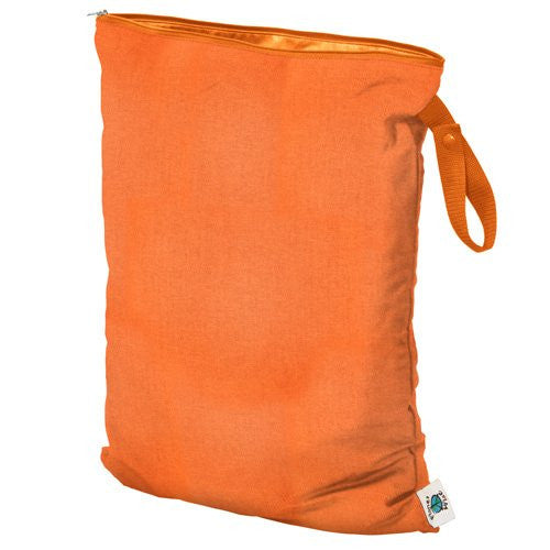 Planet Wise Wet Diaper Bag, Carrot, Large