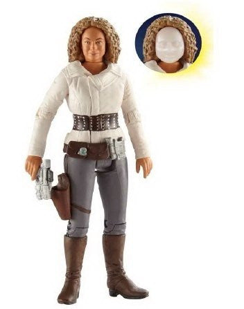 "5"" Action Figure / River Song Action Figure with 'Flesh' Mask (Solid)"