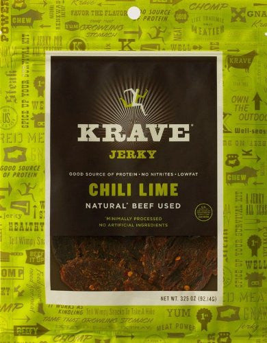 Krave Chili Lime Beef Jerky 3.25oz