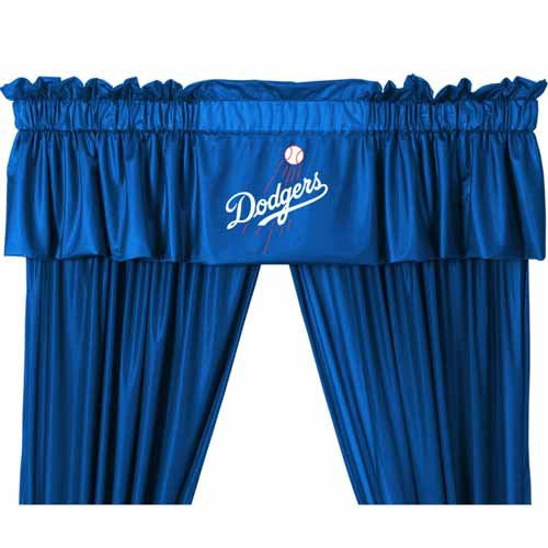 VALANCE Los Angeles Dodgers - Color Bright Blue- Size 88x14