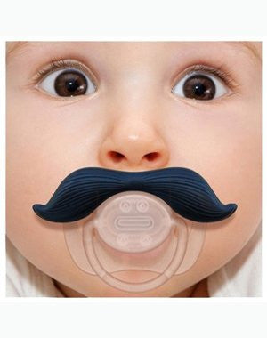 The Gentleman Mustache Pacifier