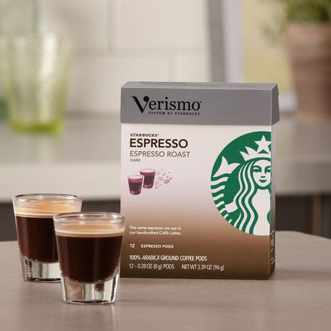 Starbucks® Decaf Espresso Roast VerismoTM Pods 12 -0.28oz