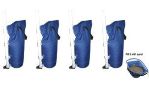 Accessories - Canopy Sand Bags Color BLUE (Pack of 4)