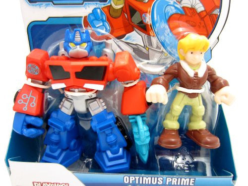 Transformers Rescue Bot - Energize Optimus Prime and Cody Burns