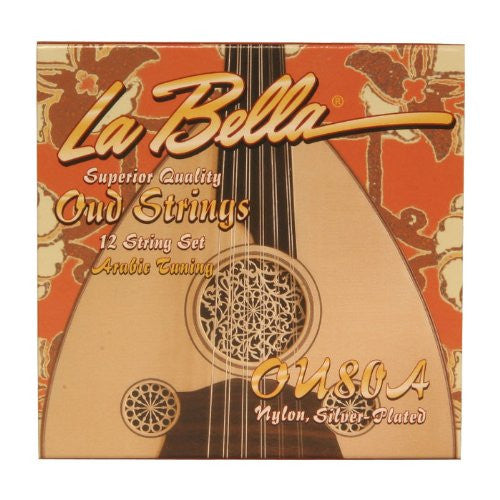 La Bella Oud String Set, OU80A, 12 Strings