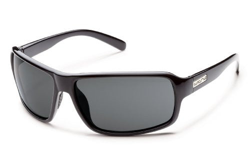 Tailgate Black with Gray Polarized Polycarbonate Lens