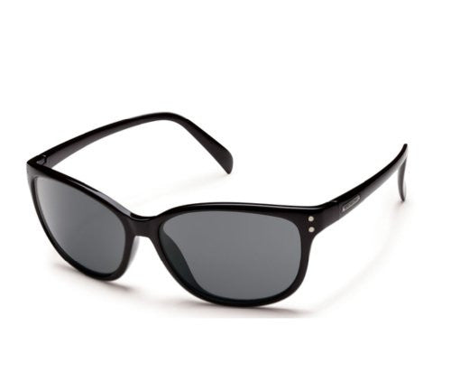 Flutter Black with Gray Polarized Polycarbonate Lens
