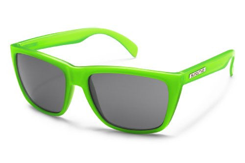 Standby Electric Green with Gray Polarized Polycarbonate Lens