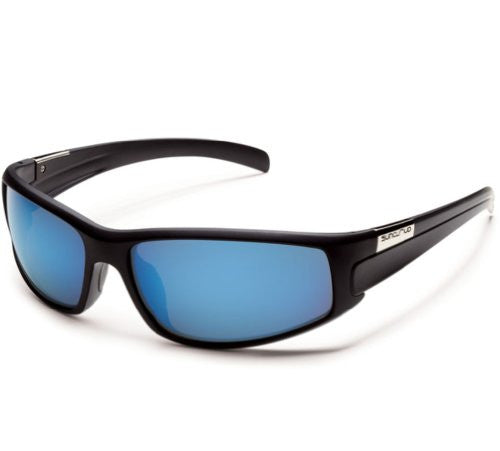 Swagger Matte Black with Gray Polarized Polycarbonate Lens