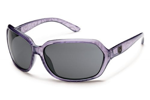 Empress Lavender Print with Gray Polarized Polycarbonate Lens