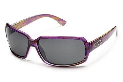 Poptown Purple Backpaint with Gray Polarized Polycarbonate Lens
