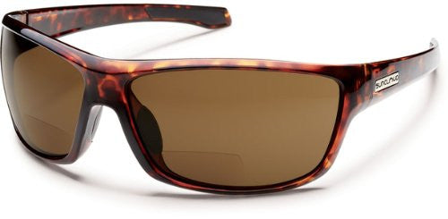 Conductor Tortoise with +2.00 Brown Polarized Polycarbonate Lens