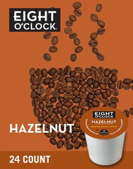 8 O'Clock® Hazelnut Coffee K-Cup® Packs, 24/BX