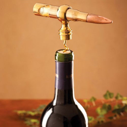 "Big Shot"" .50 Cal Corkscrew & Bottle Opener"