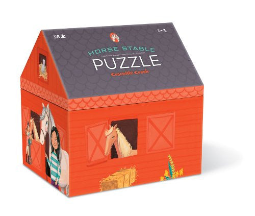 House Shaped Box Puzzles/Horse Stable