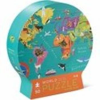 Round Shaped Box Puzzles/World