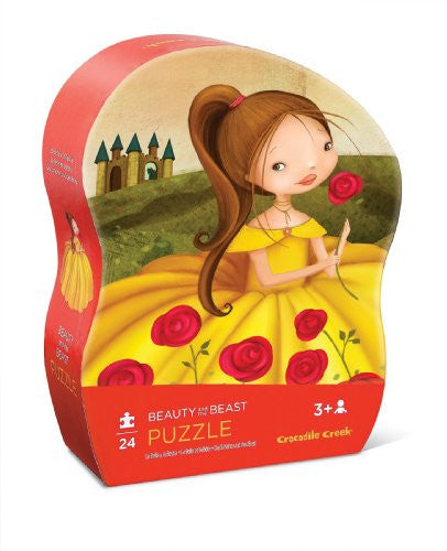 Mini Shaped Puzzle/Beauty and the Beast