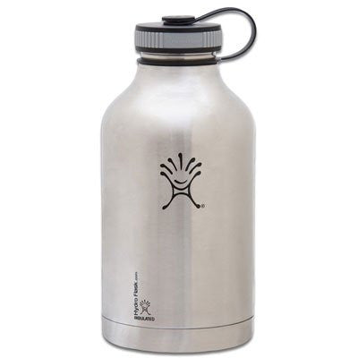 Flask Wide Mouth 64 oz - Classic Stainless