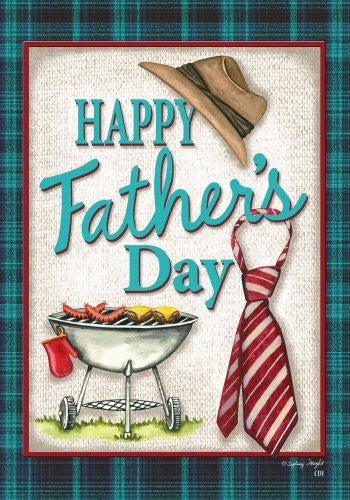 Happy Fathers Day Dad House Flag 28 x 40