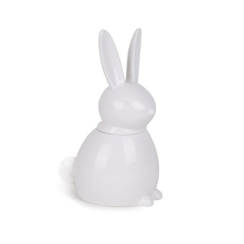 Umbra Foresta Ceramic Bathroom Canister, Bunny