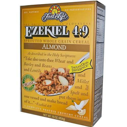 FOOD FOR LIFE Cereal Ezekiel 4:9 Almond  6/16 OZ