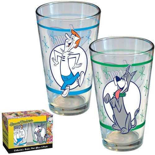 ICUP 2-Pack The Jetsons Retro Pint Glass
