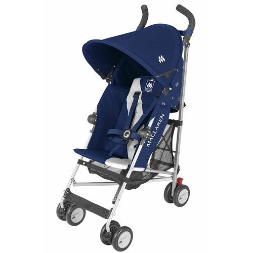 Maclaren Triumph Stroller (Size: Birth -and UP Color: Medieval Blue/Silver)