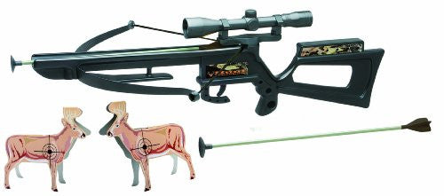 "Wild Hunting 22"" Crossbow Toy Set w/ Scope & Deer Targets"