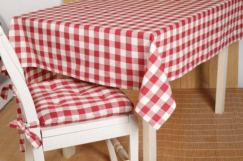 Buffalo Red Check Table Cloth 60x60""