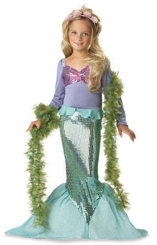 Lil' Mermaid/Toddler - Green (M 3-4)