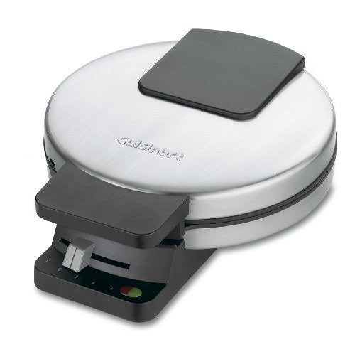 Cuisinart Classic Round Waffle Maker - Brushed Stainless