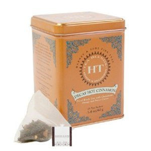 HT Decaf Hot Cinnamon Tea - 20 sachet tin, Pack of 3