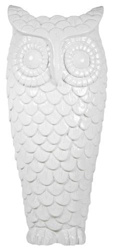 Graceful Owl Vase