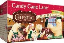 Celestial Seasonings Candy Cane Lane Tea, Decaf 20.0 BG