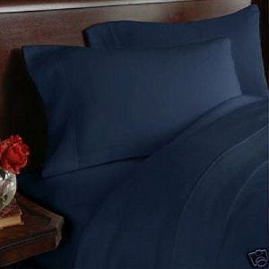 1200 Elegance Linen - Queen (Navy Blue)