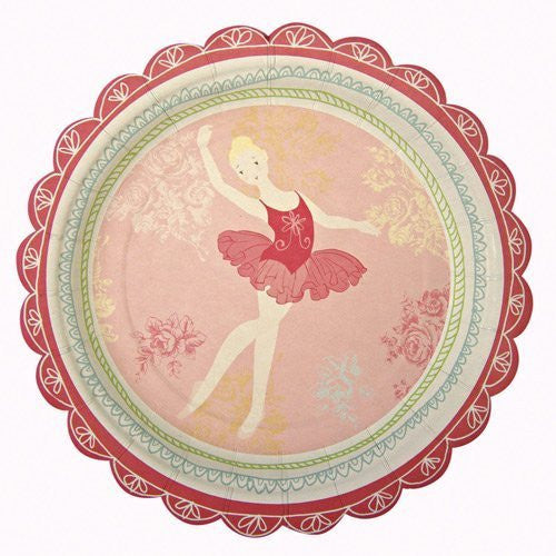 Little Dancers Small Plate - 12 pcs - 7""