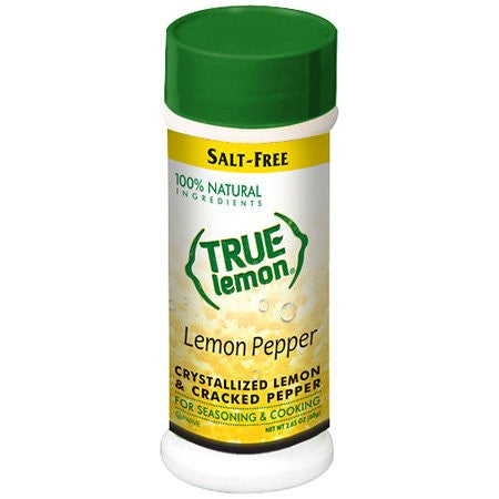 True Lemon No Salt Lemon Pepper Seasoning 2.85oz Shaker