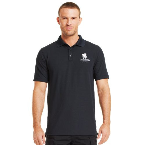 WWP Performance Polo - Black, X-Large