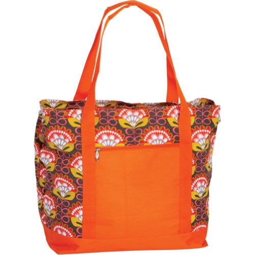 Picnic Plus Lido 2 in 1 Cooler Tote Bag (Color: Orange Martini)