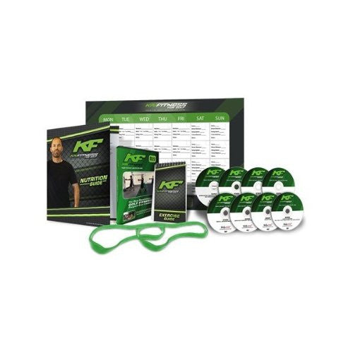 Kai Fitness for Golf: 8 DVD Set w/ Workout Band & Nutrition Guide