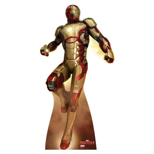 "Iron Man 3 Flying - Marvel 75.5"" x 39"" Stand-ups"