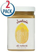 Justins Nut Butter Honey Peanut Butter, Natural 16.0 OZ