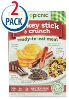 Ready to Eat Meal, Turkey Stick & Crunch, Gluten Free, All Natural 2.8 OZ