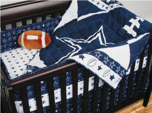 MICRO FIBER CRIB BUMPER Dallas Cowboys - Color Midnight - Size Standard