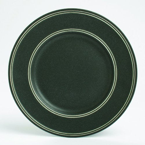 "PARAGON BLACK DINNER PLATE-1""h x 11"" dia"