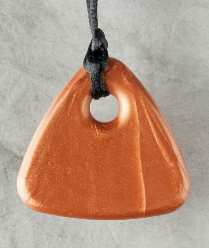 Bronze Triangle Shaped Pendant