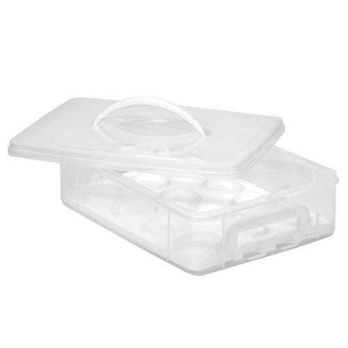 SNAPWARE Snap N Stack 1-Layer Cupcake Keeper
